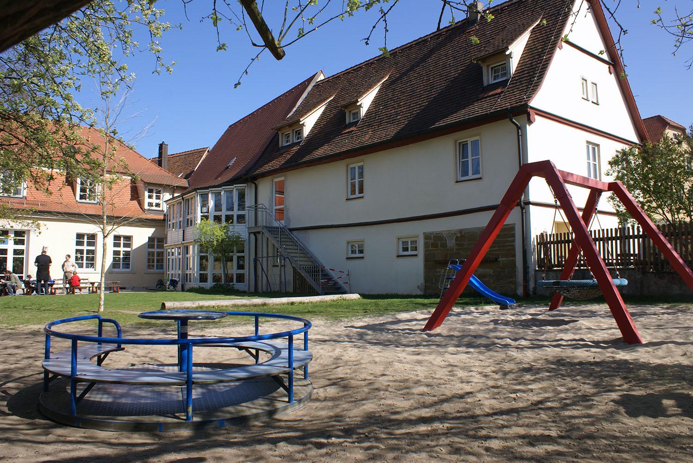Kindergarten alter stadtgraben rothenburg webcam
