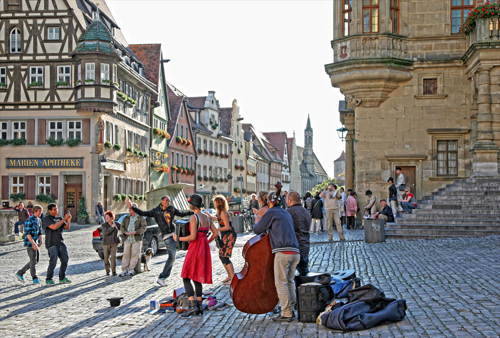 rothenburg ob der tauber music
